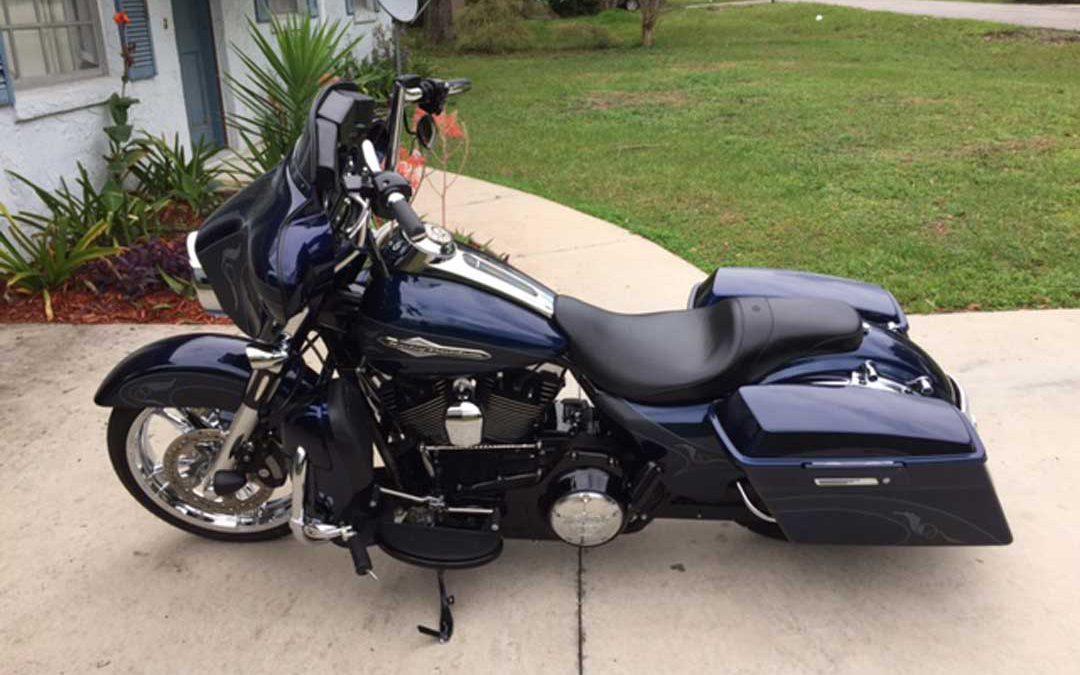 2012 Harley Davidson FLHX Streetglide Rob Lebowitz