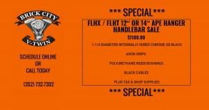 FLHX & FLHT APE HANGER HANDLEBAR SALE