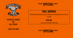 FULL SERVICE WITH NON SYNTHETIC OIL SPECIAL