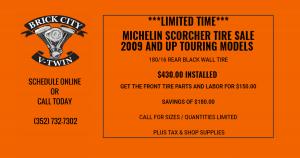 MICHELIN SCORCHER TIRE SALE
