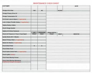 Maintenance_Checklist