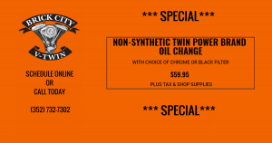 NON-SYNTHETIC TWIN POWER BRANDOIL CHANGE SPECIAL