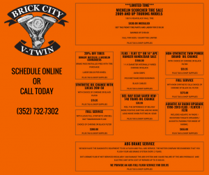 brick city v twin motorcycle shop specials ocala fl