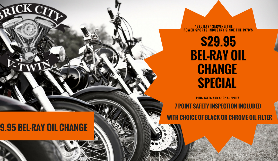 $29.95 Bel-Ray Oil Change Special